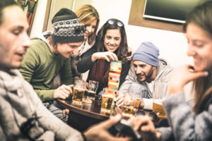 can drug and alcohol use in college lead to addiction?