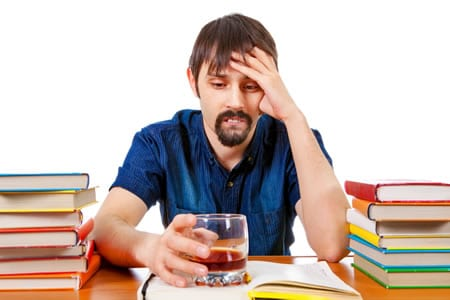 what should I do if I develop a drinking or drug problem in college?