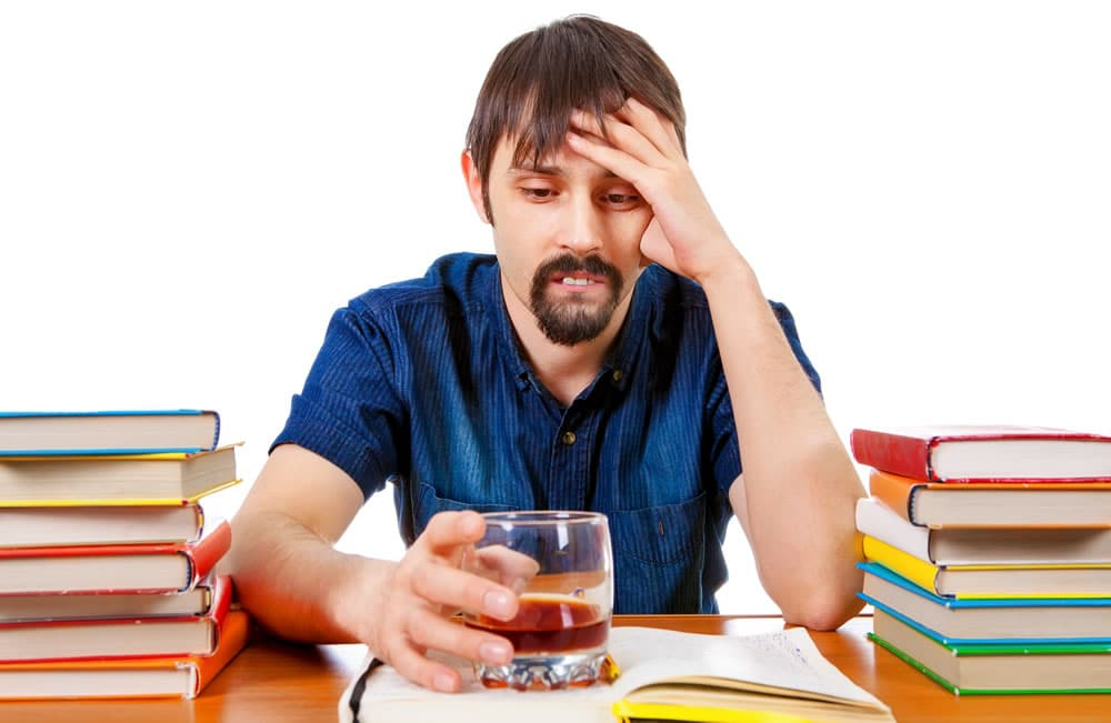 what should I do if I develop a drug or alcohol problem in college?