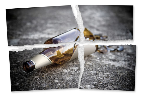 you've already given up on your New Year's resolution to stay sober