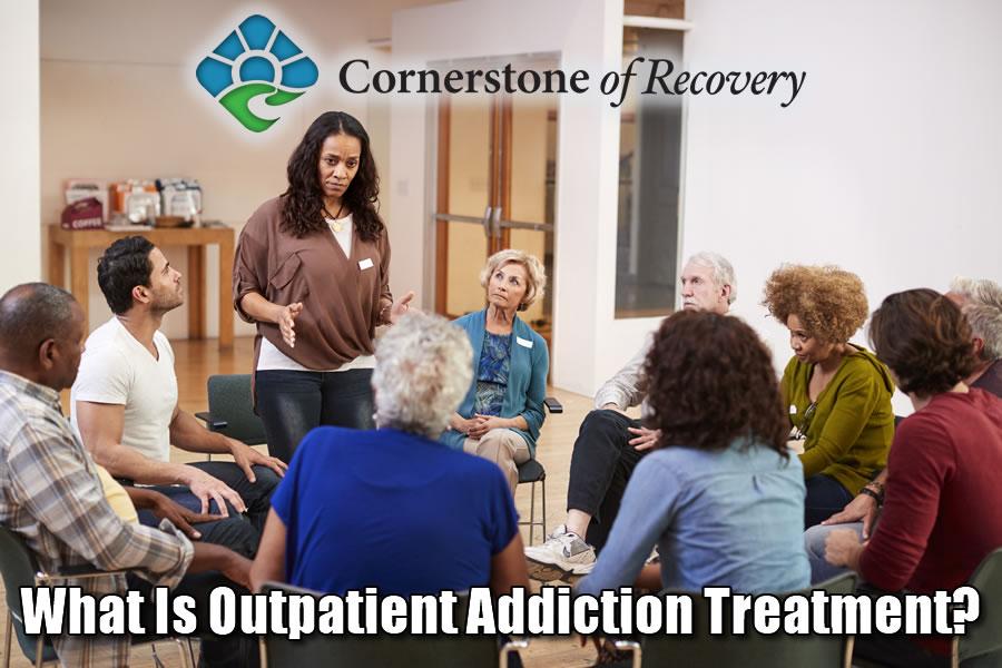 what is outpatient addiction treatment