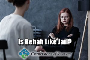 is rehab like jail