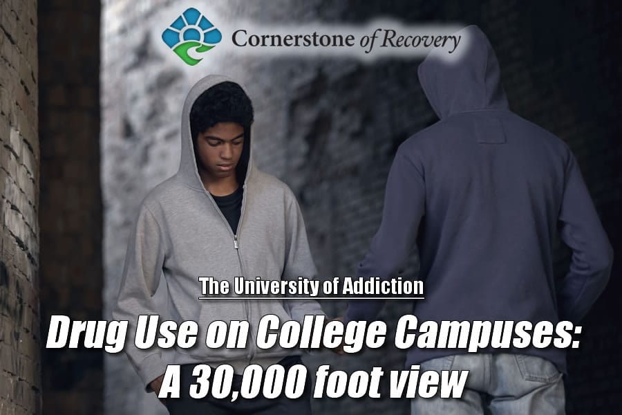 drug use on college campuses