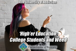 college students and weed
