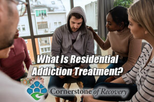 what is residential addiction treatment