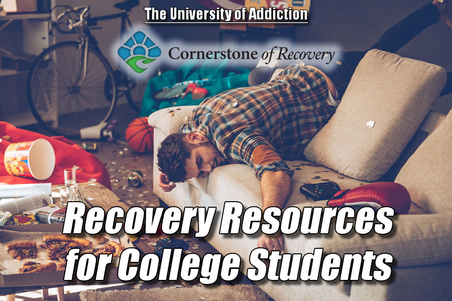recovery resources for college students