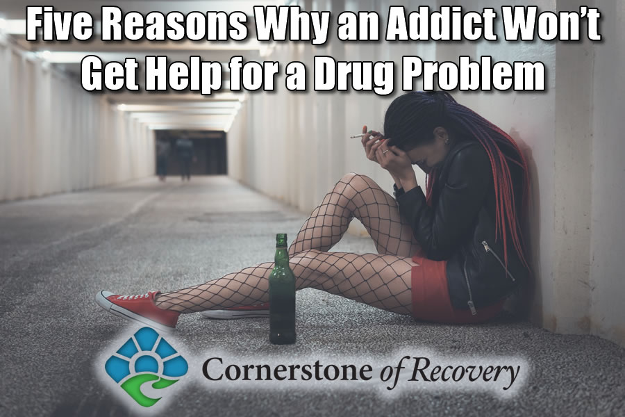 reasons why an addict won't get help