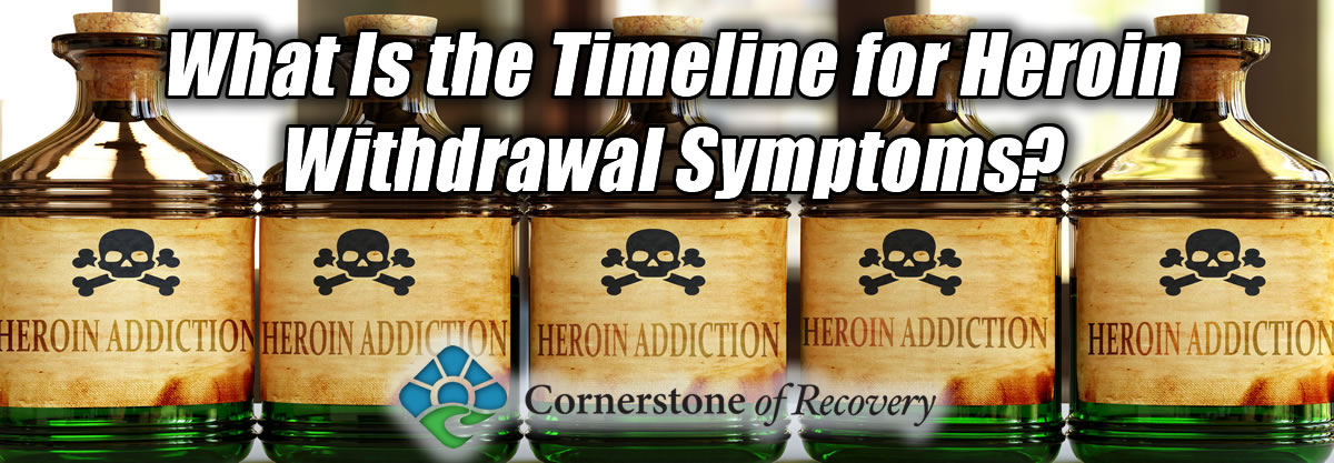 what is the timeline for heroin withdrawal symptoms