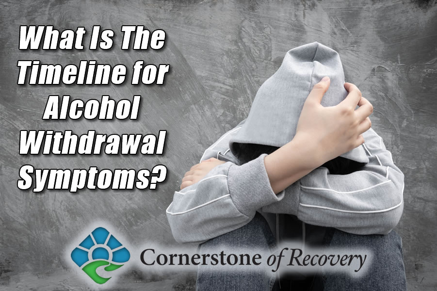 what is the timeline for alcohol withdrawal symptoms